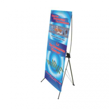 Art. 125 - Espositore richiudibile con borsa e Banner grafico